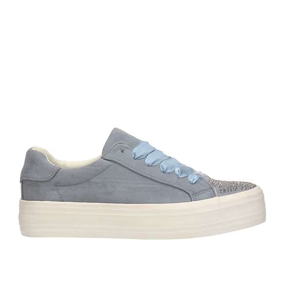Tata Italia Shoes Woman Sneakers Blue SGY28-64
