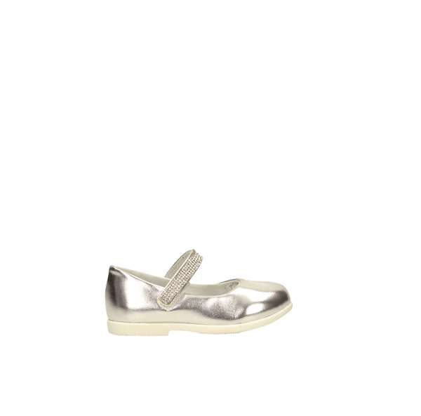 Tata Italia Shoes Junior Ballerine Silver S19-JY993-06