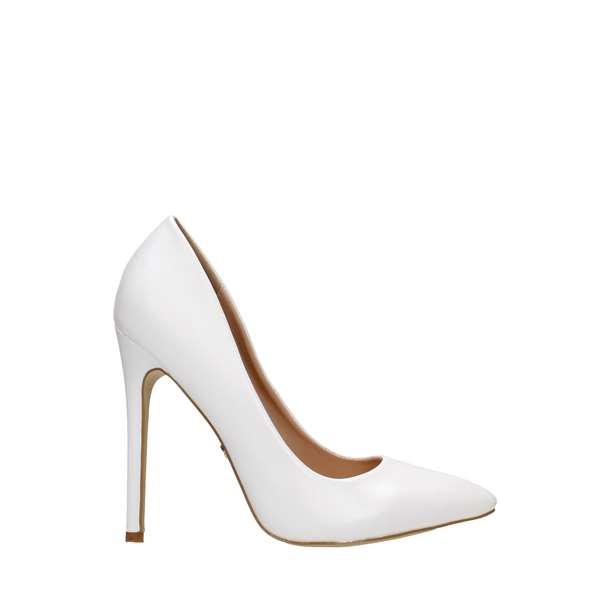 Tata Italia Shoes Woman Décolleté White 3598-1
