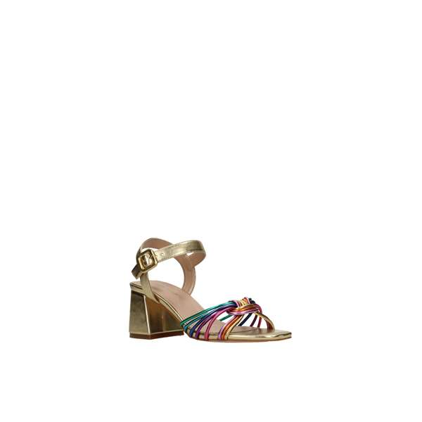 Tata Italia Shoes Woman Sandali Gold DS756-12