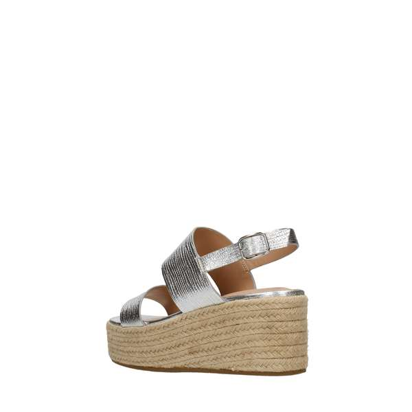 Tata Italia Shoes Woman Sandali Silver DS815-7
