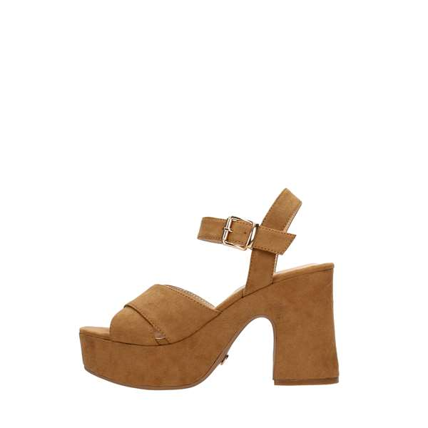 Tata Italia Shoes Woman Sandali Brown DS735-12